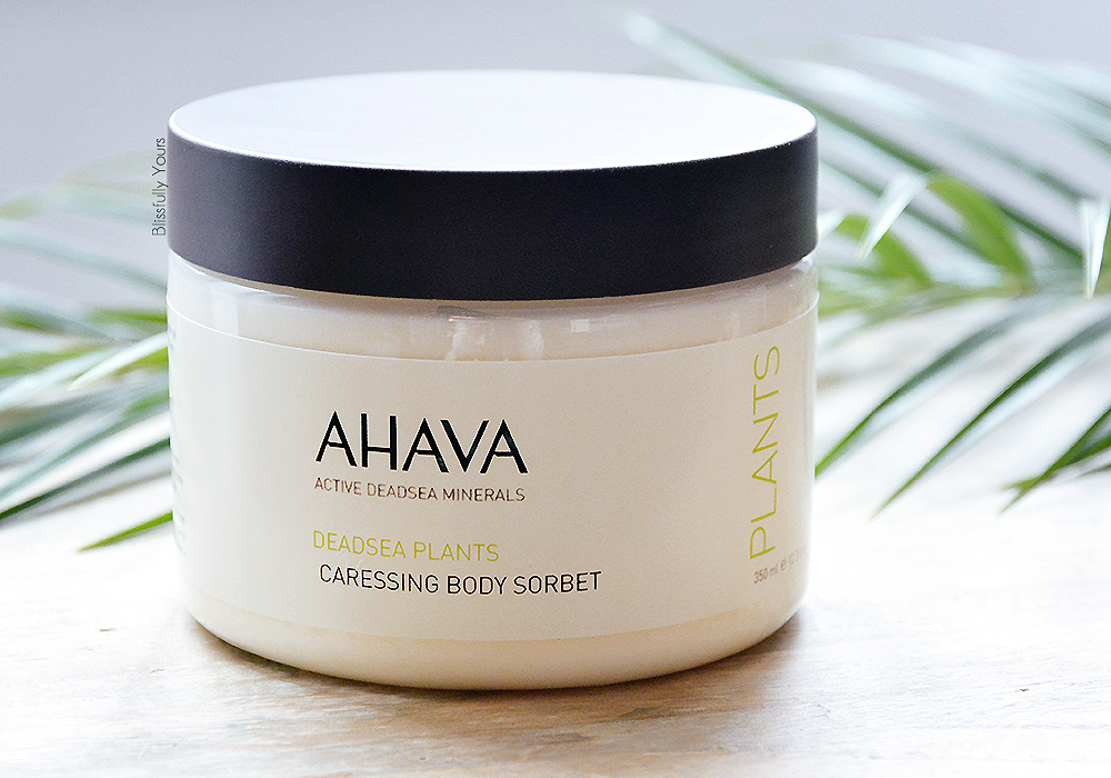 Ahava sorbet pour le corps blissfully yours