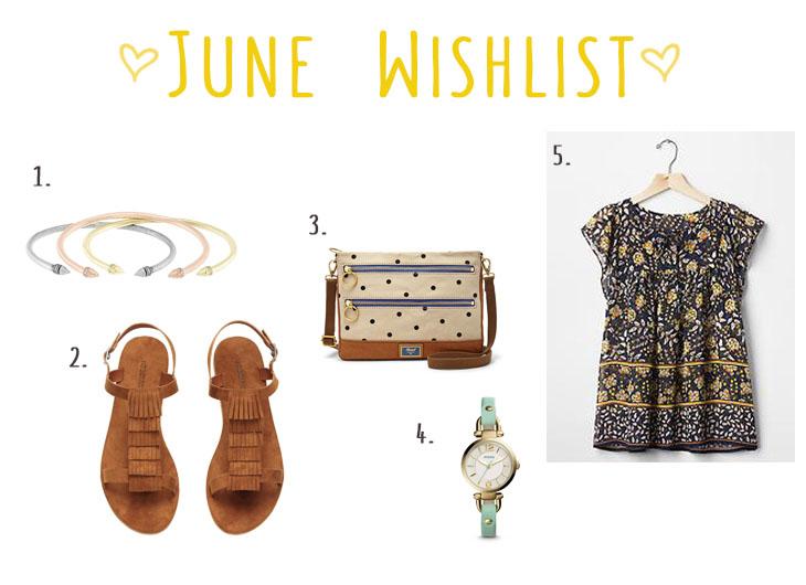 June Wishlist