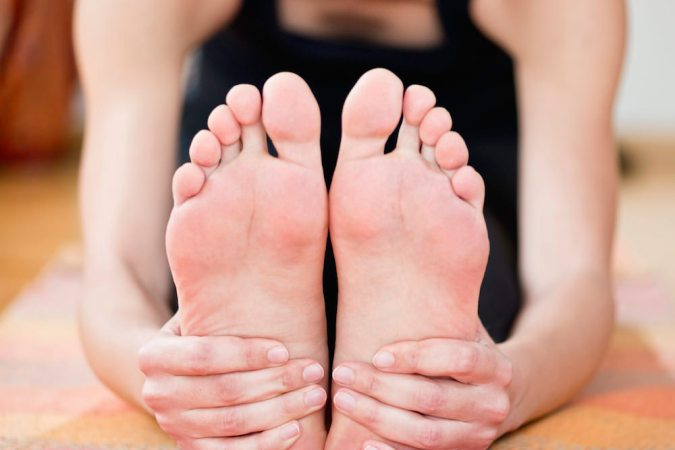 Are you a flat-footed yogi?