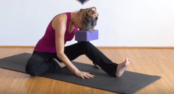 How to open up those hamstrings