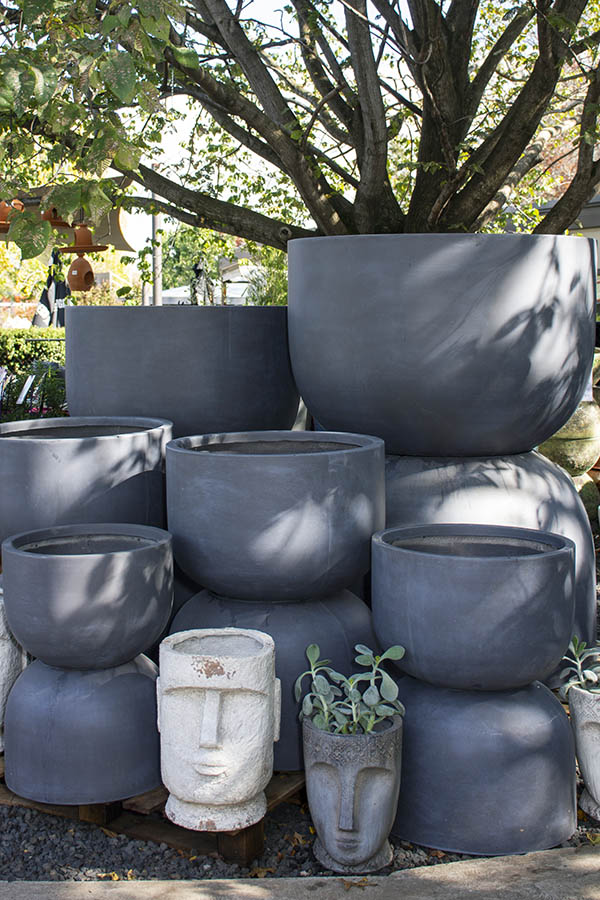 Pots and Planters at Bliss Garden and Giftware, Pialligo Canberra
