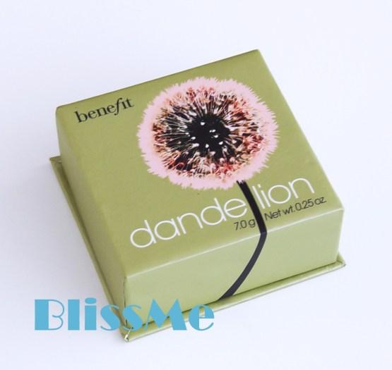 Benefit ~ Dandelion Shimmer Wagen & Gesicht Puder