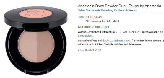 """Anastasia Beverly Hills Brow Duo Powder """"auburn"""""""