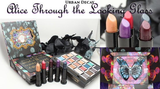Urban Decay 2016 Alice Through the Looking Glass Lipsticks Set