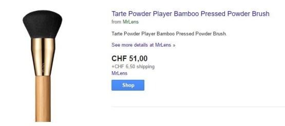 Tarte Powder Player Bamboo Pressed Powder Brush