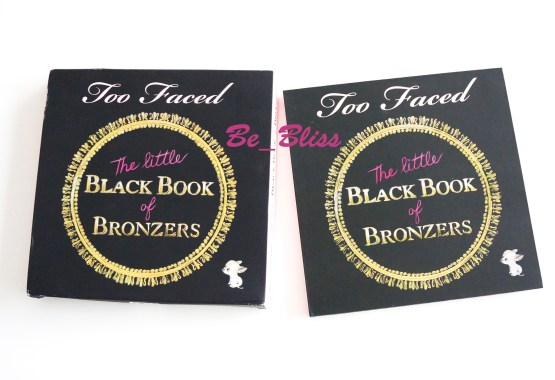 """TOO FACED """"Little Black Book of Bronzers"""" Palette"""