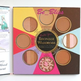 "TOO FACED ""Little Black Book of Bronzers"" Palette"