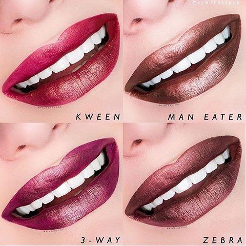 """Colourpop Ultra Metallic Lip Lipstick """"Zebra"""""""