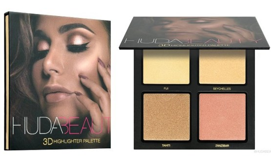 "Huda Beauty 3D Highlighter Palette ""Gold Sand Edition"""