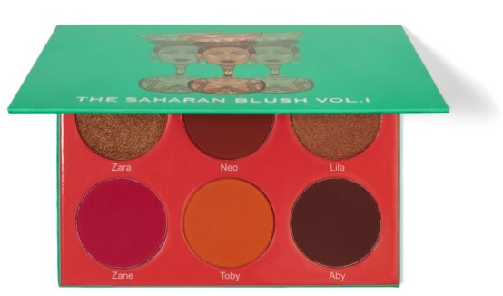 Juvia's Place The Saharan Blush Palette Volume I
