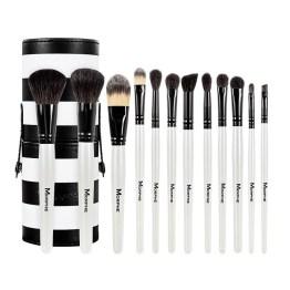 Morphe Brushes 706 12 Piece Black and White Travel Brush Set