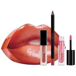 """Huda Beauty Contour and Strobe Lip Set """"Trendsetter & Snobby"""""""