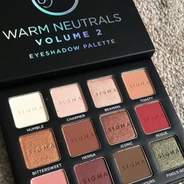 Sigma Beauty Warm Neutrals Volume 2 Palette