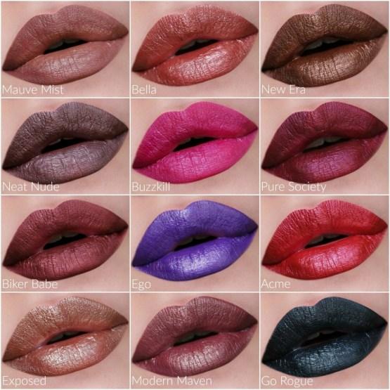 NYX Professional Meet The Metallics Lip Vault