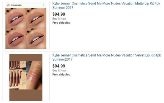 Kylie Send Me More Nudes Matte Liquid Lipstick Set
