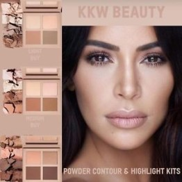 "KKW Powder Contour & Highlight Kit ""Medium"""