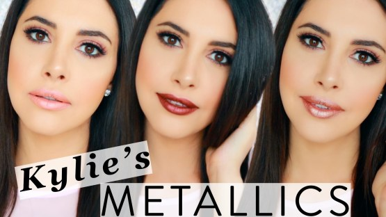 Kylie Lip Metal Matte Lipstick by Kylie Jenner King K, Heir & Reign