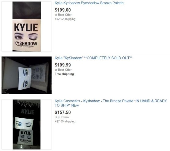 NEW! Kylie Burgundy by Kylie Jenner Palette