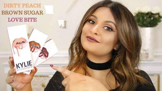 Kylie Lip Kit by Kylie Jenner | Dirty Peach Matte Liquid Lipstick