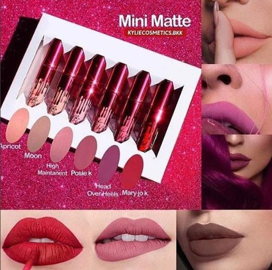 Kylie | Valentine's Edition Mini Matte Liquid Lip Kit ~ SOLD OUT!