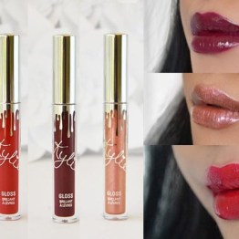 "Kylie Lip Gloss Set ""Cupid, Jolly & Naughty"""
