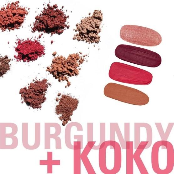 Kylie Cosmetics Koko Kollection + Burgundy Palette