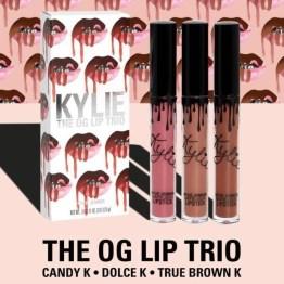Kylie Cosmetics OG Trio Matte Lip Set