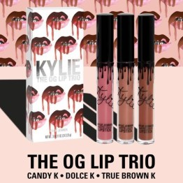 Kylie Cosmetics OG Trio Matte Lip Set