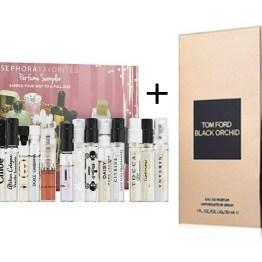 Sephora Favorites Perfume Sampler Set + Full Size Tom Ford Black Orchid