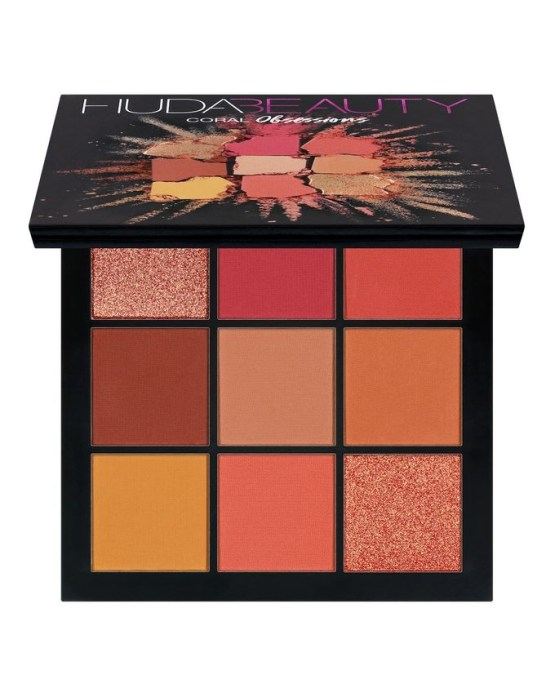 """Huda Beauty Obsessions Eyeshadow Palette """"Coral"""""""