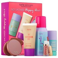 Tarte Limited-Edition No Shower Happy Hour Athleisure Essentials SPF Set