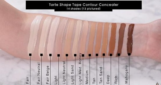 "Tarte Shape Tape Contour Concealer ""Light Sand"""