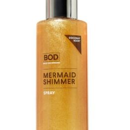 NEW! BOD Gold Mermaid Shimmer Body Spray