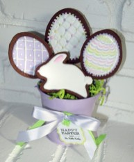 Easter Basket Custom Cookies