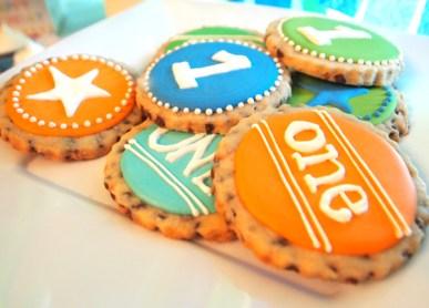 First Birthday Custom One Cookies