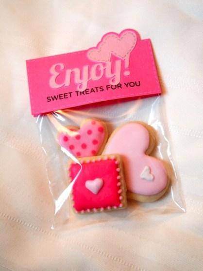 Valentine's Day Custom Cookies Packaging