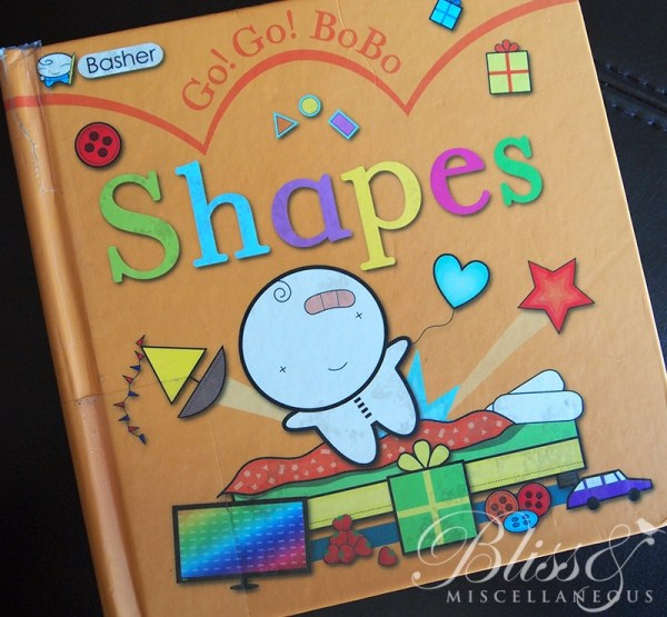 Go Go Shapes Book