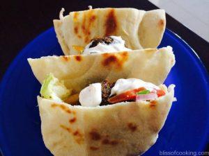 Pita with Falafel