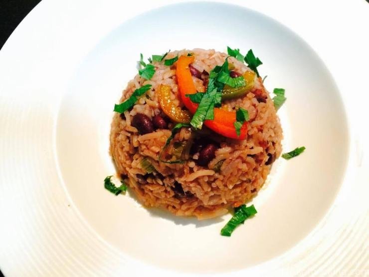 Jamaican Rice, Red Bean Rice, Jamaican Rice & Peppers