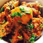 Aloo Dum, Potato Curry