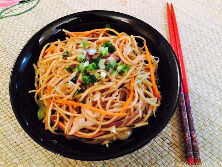 Chow Mien (Stir fried Noodles)