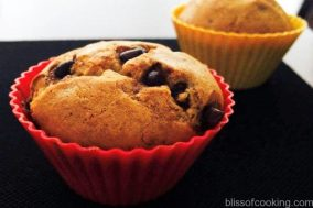 Banana & Chocklate chip muffin, Muffins, Cake