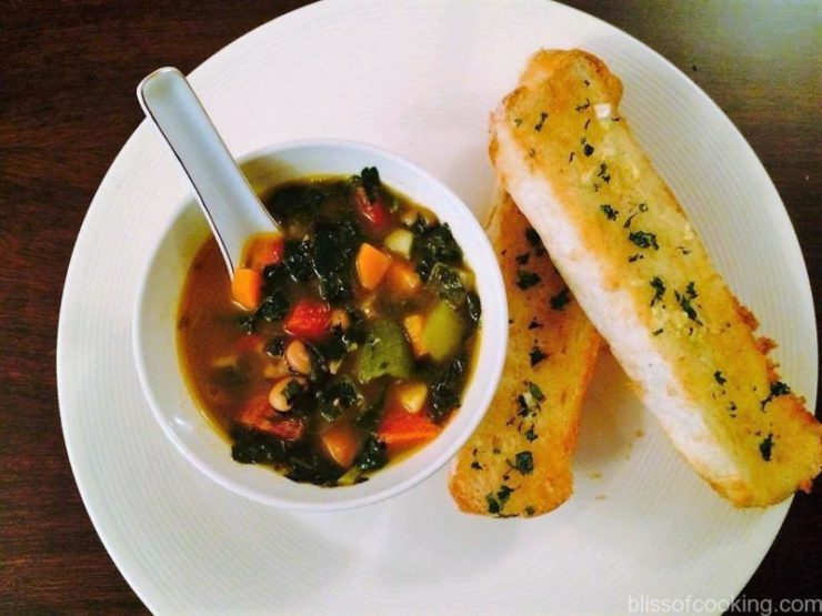 Swiss Chard and Bean Soup