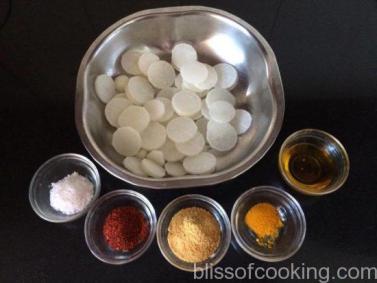 Mooli Ka Achar - Pickled Radish