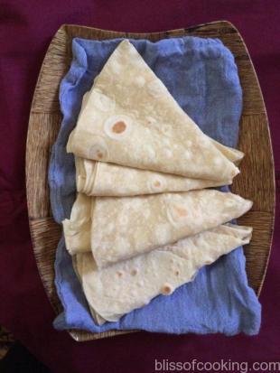 Rumali Roti, Indian Flat Bread