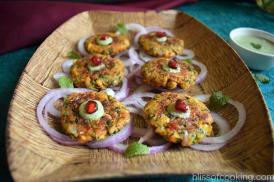 Corn and Methi Kabab