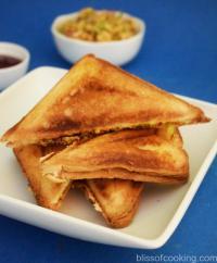 Peri-Peri Cottage Cheese Sandwich