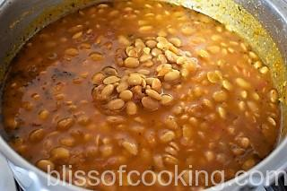 Soya Bean Masala - Bliss Of Cooking