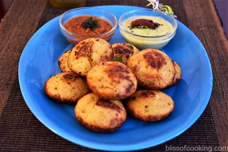 Oats Appe (Appam/Paniyaram)