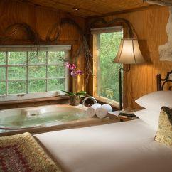 Sofa Sleeper For Cabin Blue Fabric Chesterfield Ranch Near Houston :: Texas Cabins Rent